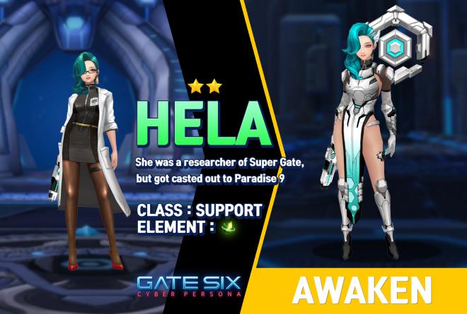 GATESIX: Unit introduce - HELA (★★) image 1
