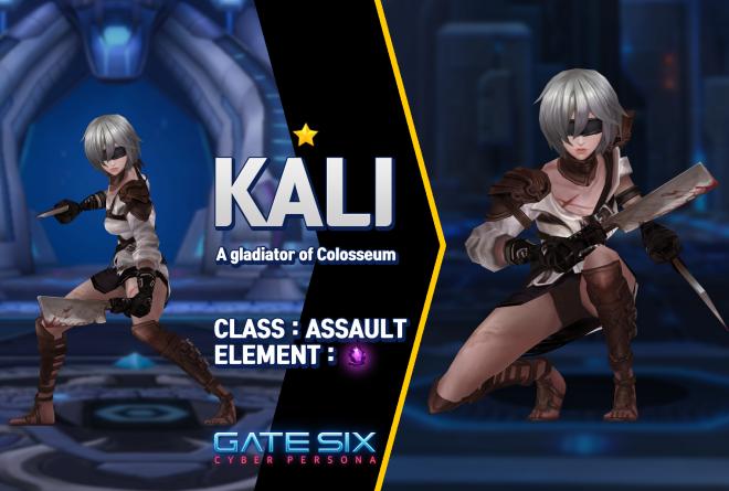 GATESIX: Unit introduce - KALI (★) image 1