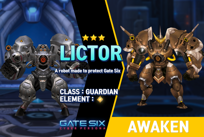 GATESIX: Unit introduce - LICTOR (★★★) image 1