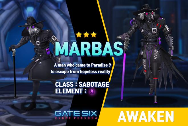 GATESIX: Unit introduce - MARBAS (★★★) image 1