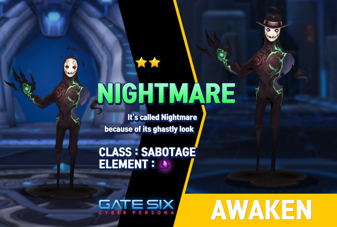 GATESIX: Unit introduce - NIGHTMARE (★★) image 1