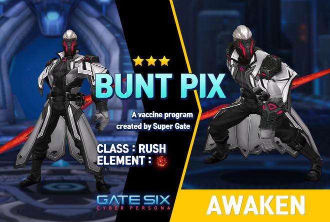 GATESIX: Unit introduce -  BUNT PIX (★★★) image 1