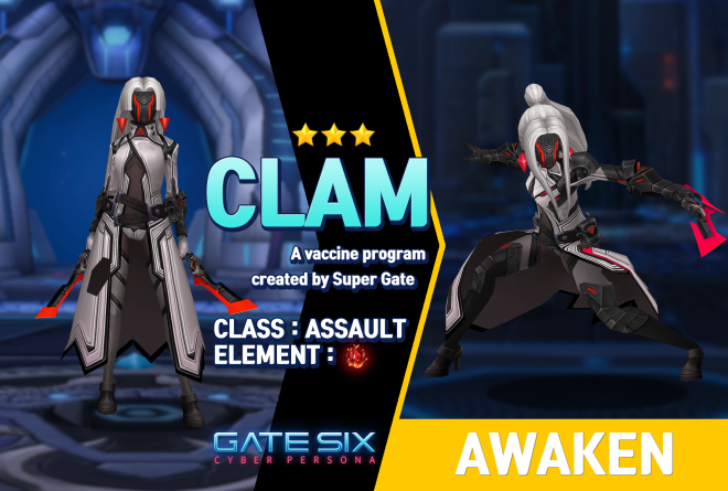 GATESIX: Unit introduce - CLAM (★★★) image 1