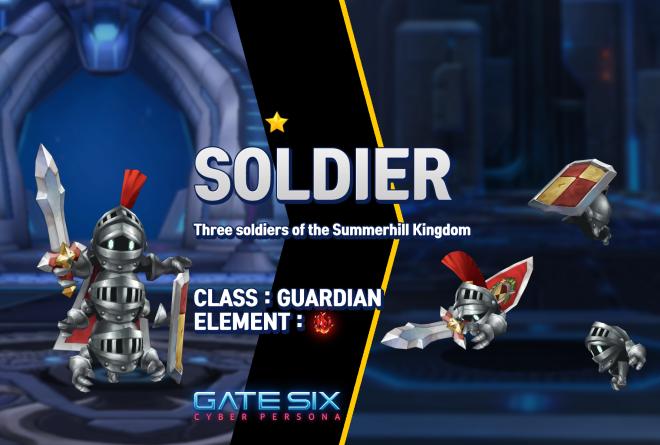 GATESIX: Unit introduce - SOLDIER (★) image 1