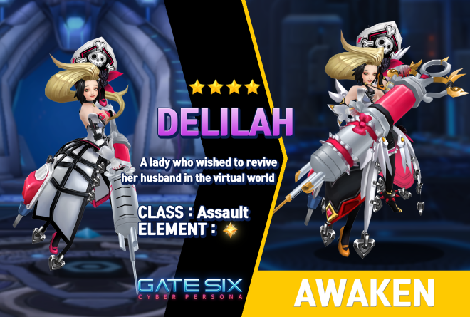 GATESIX: Unit introduce - DELILAH (★★★★) image 1