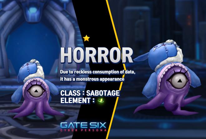 GATESIX: Unit introduce - HORROR (★) image 1