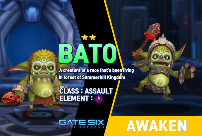 GATESIX: Unit introduce - BATO (★★) image 1