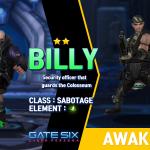 BILLY (★★)