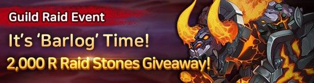 60 Seconds Hero: Idle RPG: Events - [Guild Raid Event] It's 'Barlog' Time! image 1