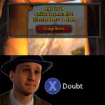 you're lying...
