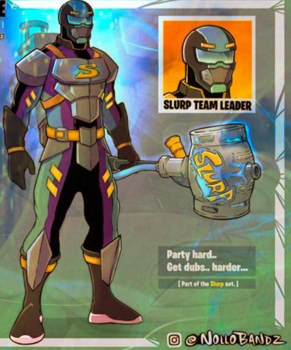 Fortnite: Battle Royale - Do u guys think the slurp team leader will come into fortnite shoutout to Nollo Bandz image 1