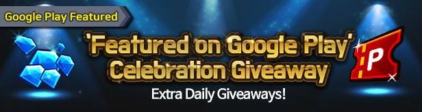 60 Seconds Hero: Idle RPG: Events - 'Featured on Google Play' Celebration Extra Daily Giveaway 8/30(Fri) – 9/05(Thu) (UTC-7) image 1