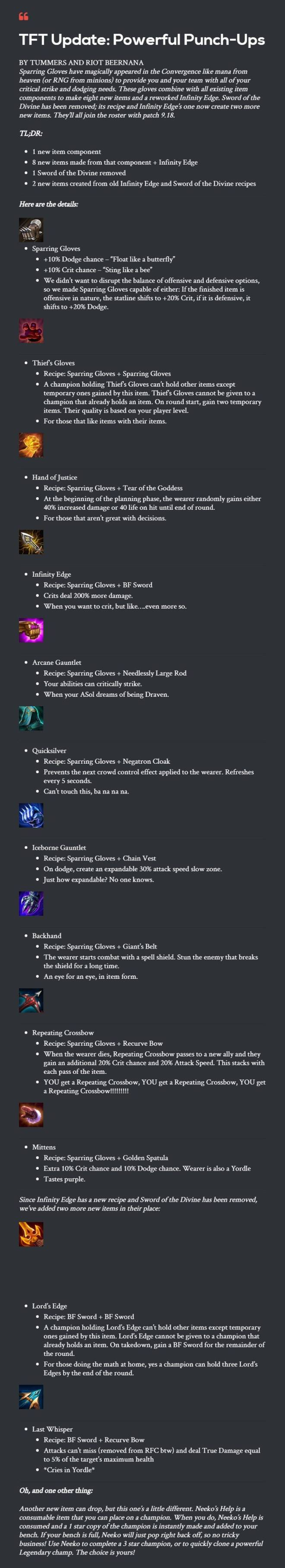 Teamfight Tactics: General - New Items coming to Patch 9.19 image 2
