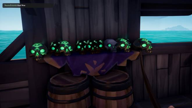 Sea of Thieves: General - When you see a little ship in a outpost image 1