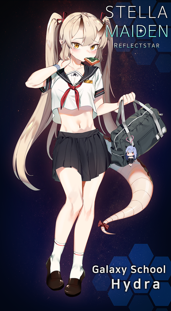 StellaMaiden: Notice - Galaxy School Coord costume image 4