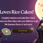 [Event] I Love Rice Cake Event (9/10 ~ 9/30 CDT)