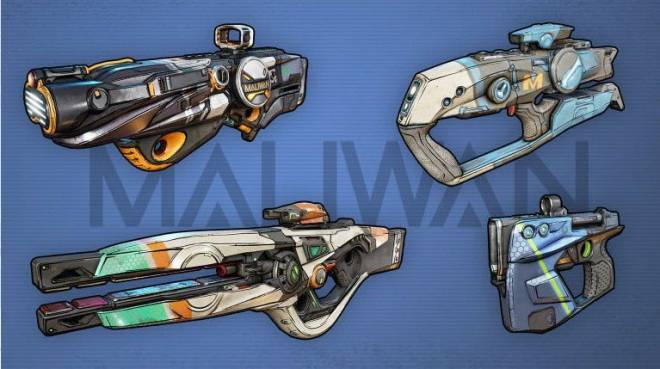 Borderlands: Awesome Items - Weapon manufacturers in Borderlands 3 - Part 2 (Hyperion, Jakobs, Maliwan) image 6