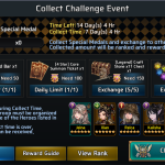 Collect Challenge Event!