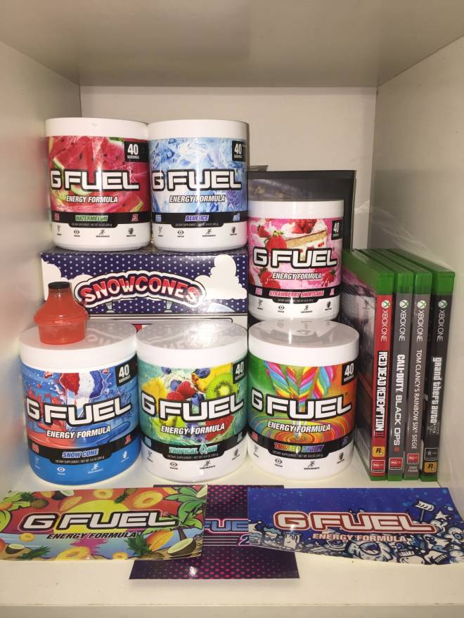 G Fuel: General - The stash has been updated image 2