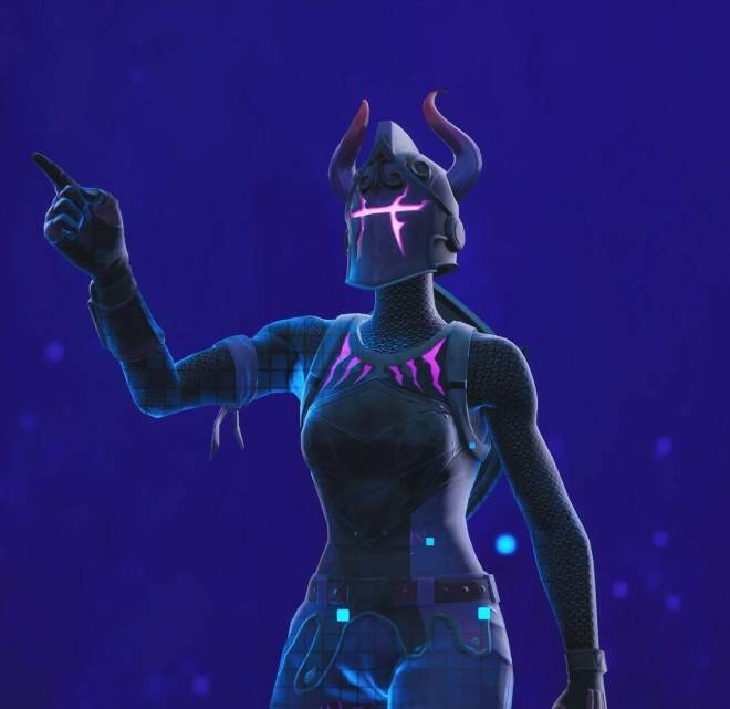 Fortnite: Battle Royale - Let the darkness consume you...😈💔✨(Dark Red Knight Showcase)  image 7