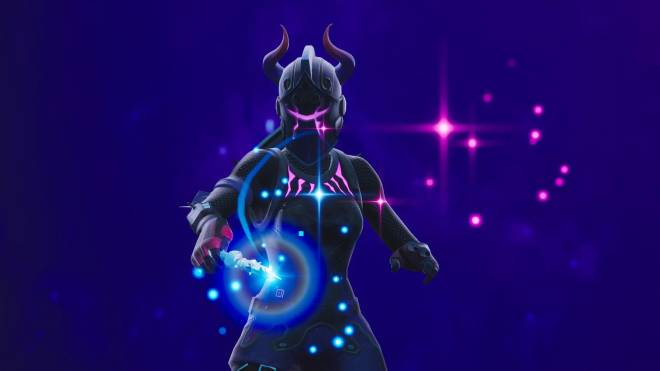 Fortnite: Battle Royale - Let the darkness consume you...😈💔✨(Dark Red Knight Showcase)  image 3