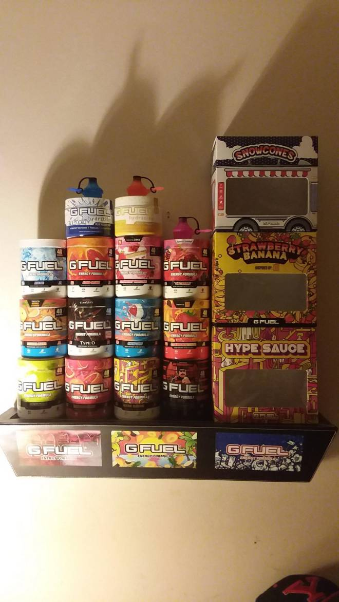 G Fuel: General - My collection so far image 2