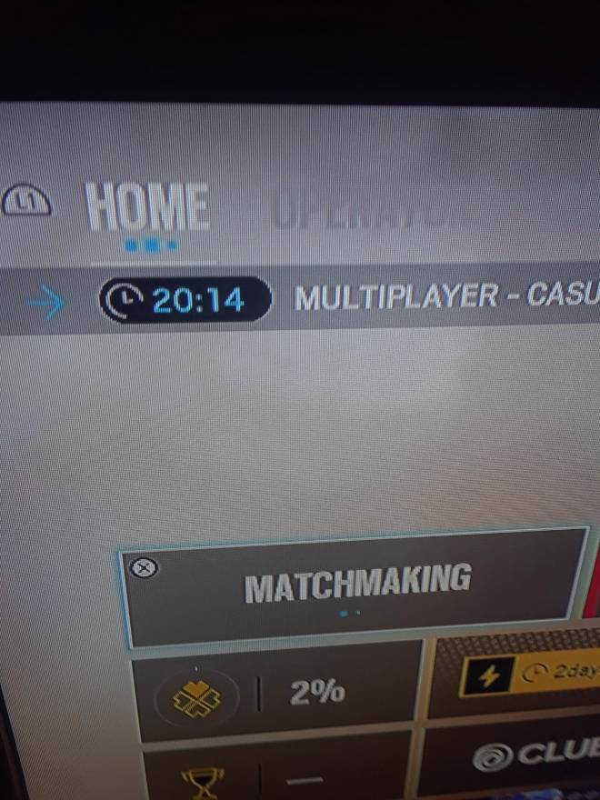 Rainbow Six: General - Anyone Know why this is happening the long q's are killing me. image 1