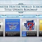 Iceborne Update Roadmap Revealed