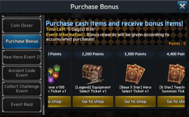 Ceres M: ★ events - Purchase Bonus Event  image 2