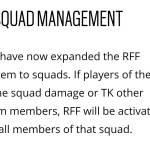 RFF system updates