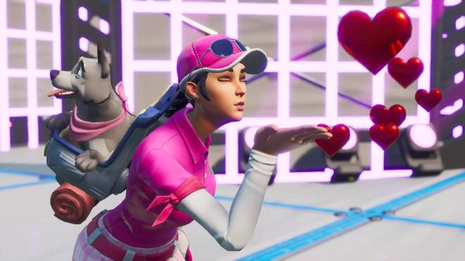 Fortnite: Battle Royale - Fore! (Birdie [with Bonesy] Showcase) ⛳💕✨ image 7