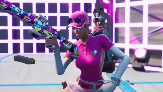 Fortnite: Battle Royale - Fore! (Birdie [with Bonesy] Showcase) ⛳💕✨ image 4