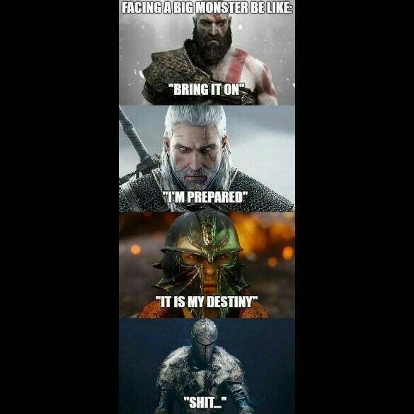Dark Souls: Memes - The struggle. image 2