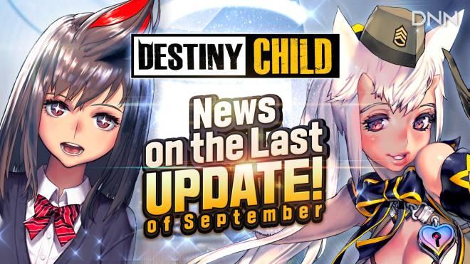 DESTINY CHILD: DC TUBE - [Derring News] News on September's Second Update image 1