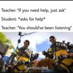 Bamboozled again