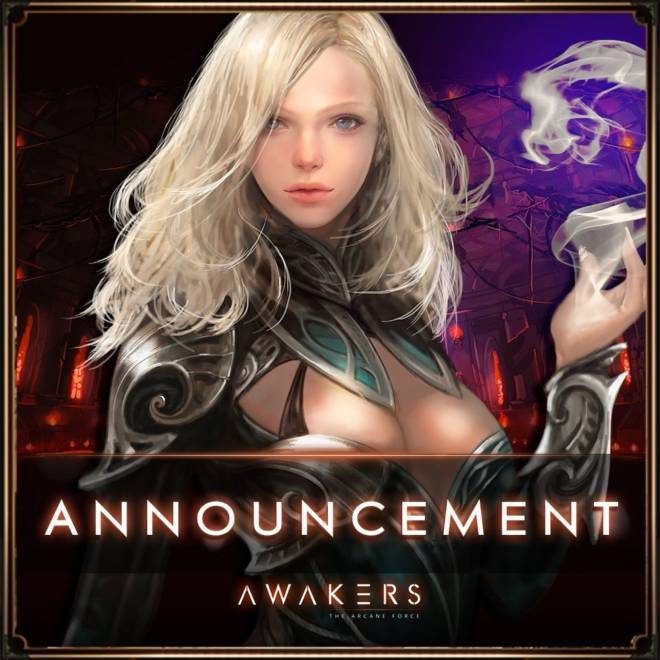 AWAKERS: Notice - Announcement image 1