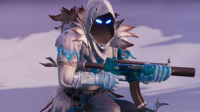 Fortnite: Battle Royale - Frosty Feathers... ❄️🕊️✨(Frozen Raven Showcase)  image 20