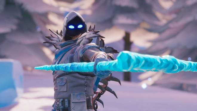 Fortnite: Battle Royale - Frosty Feathers... ❄️🕊️✨(Frozen Raven Showcase)  image 15