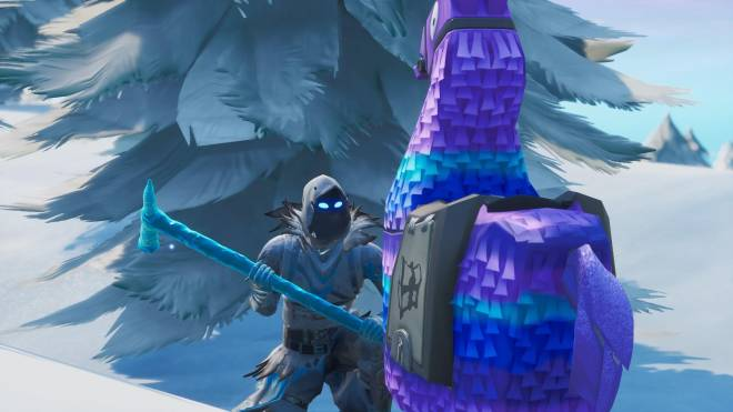 Fortnite: Battle Royale - Frosty Feathers... ❄️🕊️✨(Frozen Raven Showcase)  image 3