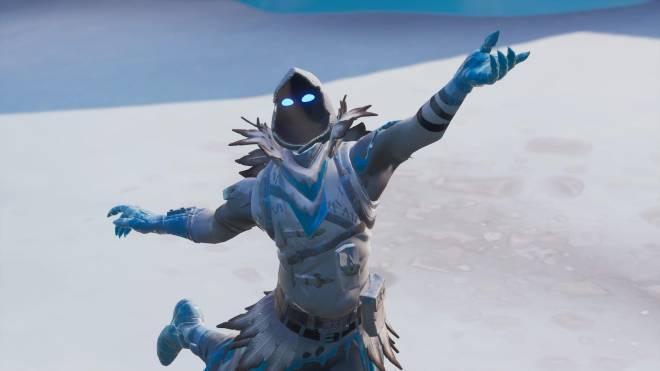 Fortnite: Battle Royale - Frosty Feathers... ❄️🕊️✨(Frozen Raven Showcase)  image 4