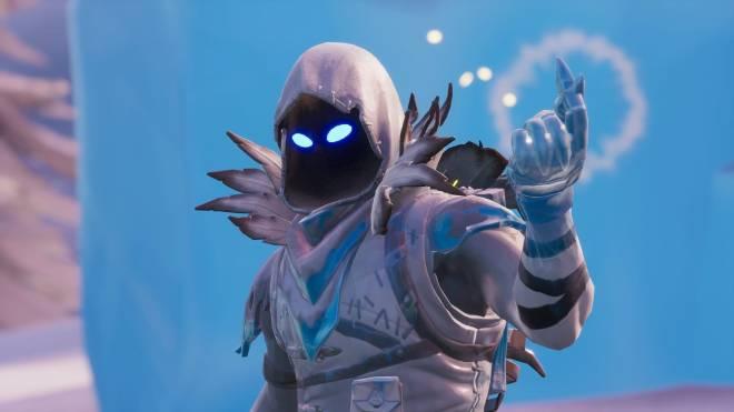Fortnite: Battle Royale - Frosty Feathers... ❄️🕊️✨(Frozen Raven Showcase)  image 18