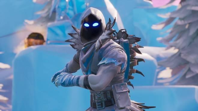Fortnite: Battle Royale - Frosty Feathers... ❄️🕊️✨(Frozen Raven Showcase)  image 9