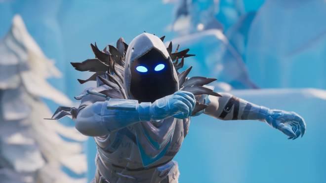 Fortnite: Battle Royale - Frosty Feathers... ❄️🕊️✨(Frozen Raven Showcase)  image 6