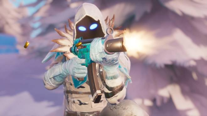Fortnite: Battle Royale - Frosty Feathers... ❄️🕊️✨(Frozen Raven Showcase)  image 21