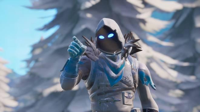 Fortnite: Battle Royale - Frosty Feathers... ❄️🕊️✨(Frozen Raven Showcase)  image 5