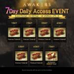New 7 Day Daily Access Event!