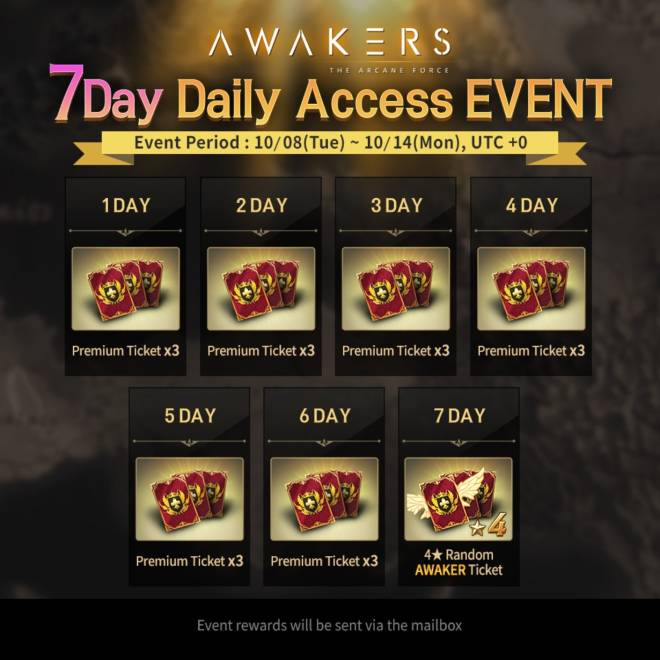 AWAKERS: Event - New 7 Day Daily Access Event!  image 1