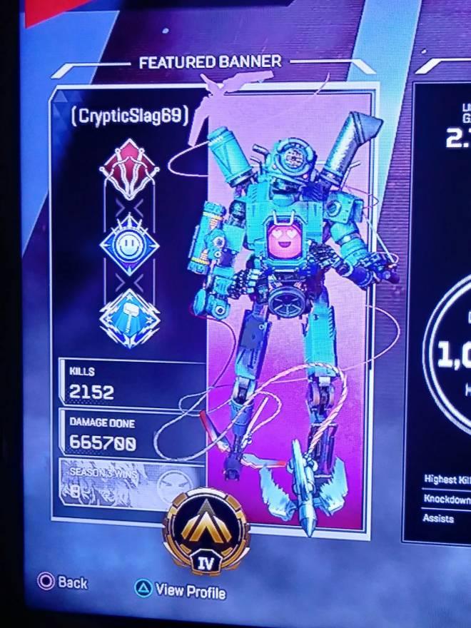 Apex Legends: General - Pathfinder main stats? image 2