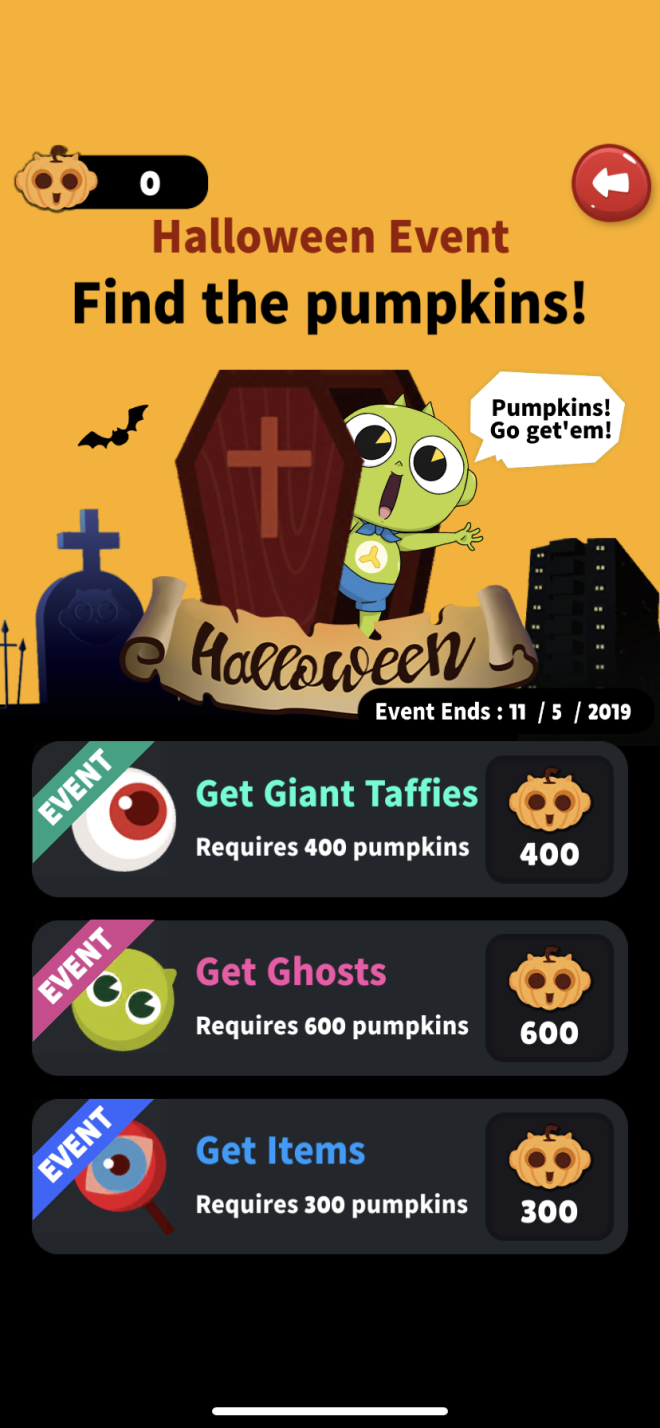 GETCHA GHOST: notice - Halloween Vampire Event  image 9