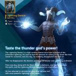 [Legendary Card] : Lightning Demon